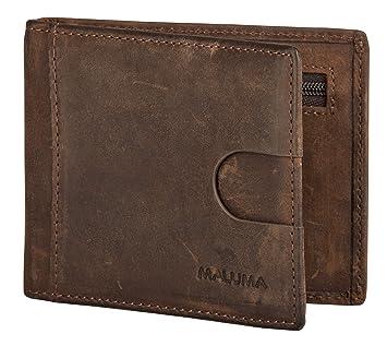 b4608f16b0741 Maluma Premium Slim-Wallet Mit Münzfach