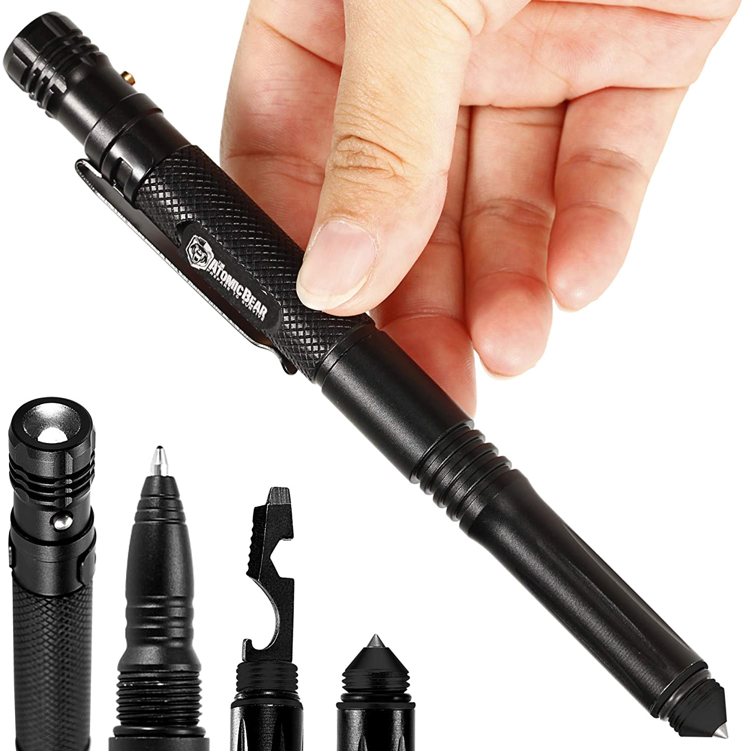 MTP-6 Tactical Pen – Multitool - Self Defense for Women & Men