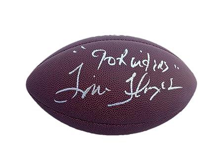 Tom Flores Wilson Nfl quot Go Raiders quot  Signed Football - JSA Certified  - Autographed Footballs 0189d03ff