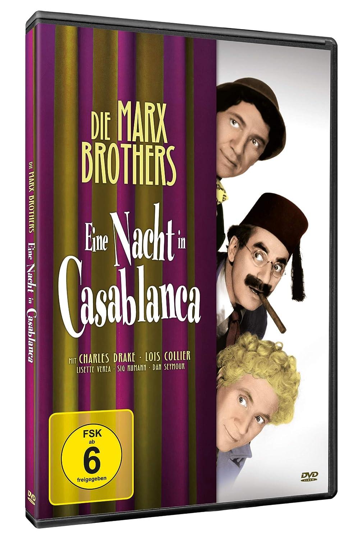 Die Marx Brothers - Eine Nacht in Casablanca Alemania DVD: Amazon ...