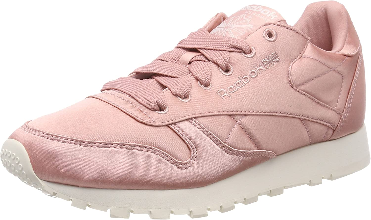 Classic Leather Satin Low-Top Sneakers