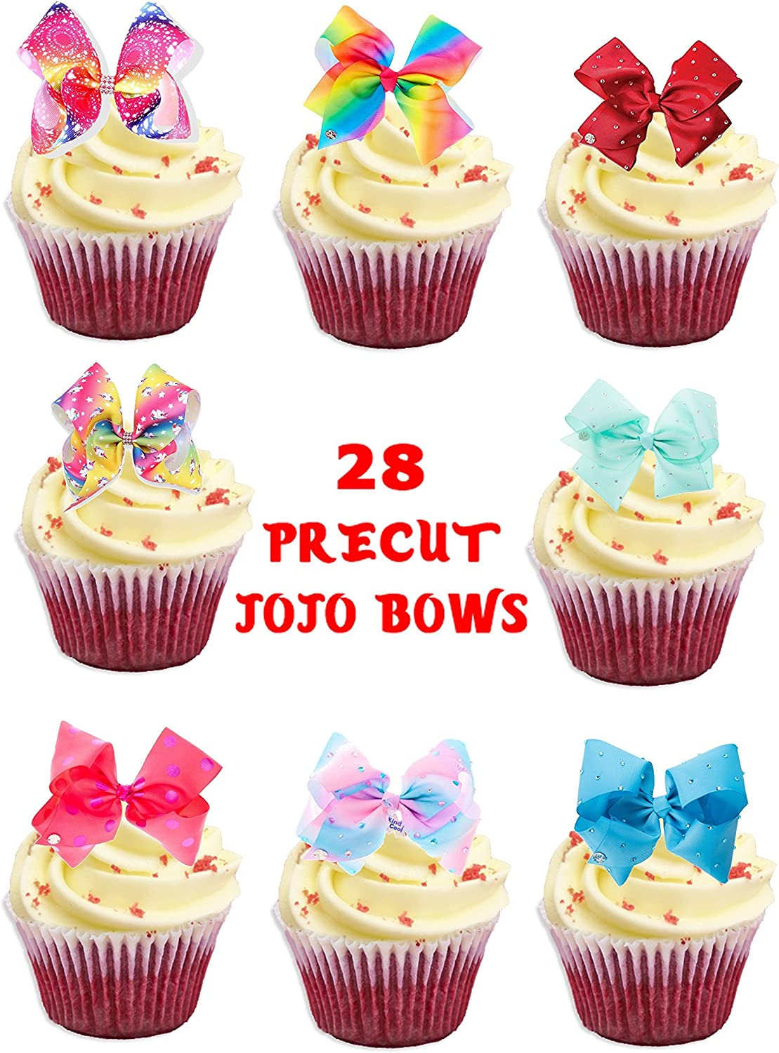 30X 4cm ABADAS EDIBLE FONDANT//WAFER FAIRY CUP CAKE TOPPERS