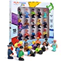 15-Piece Playmags Magnetic Community Figures