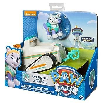 PAW PATROL PAT PATROUILLE Everest avec son véhicule