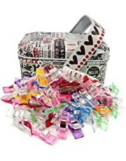 Clips de costura,Bingolar 100pcs Craft Clips Craft accesorios para costura tejer ganchillo, manualidades