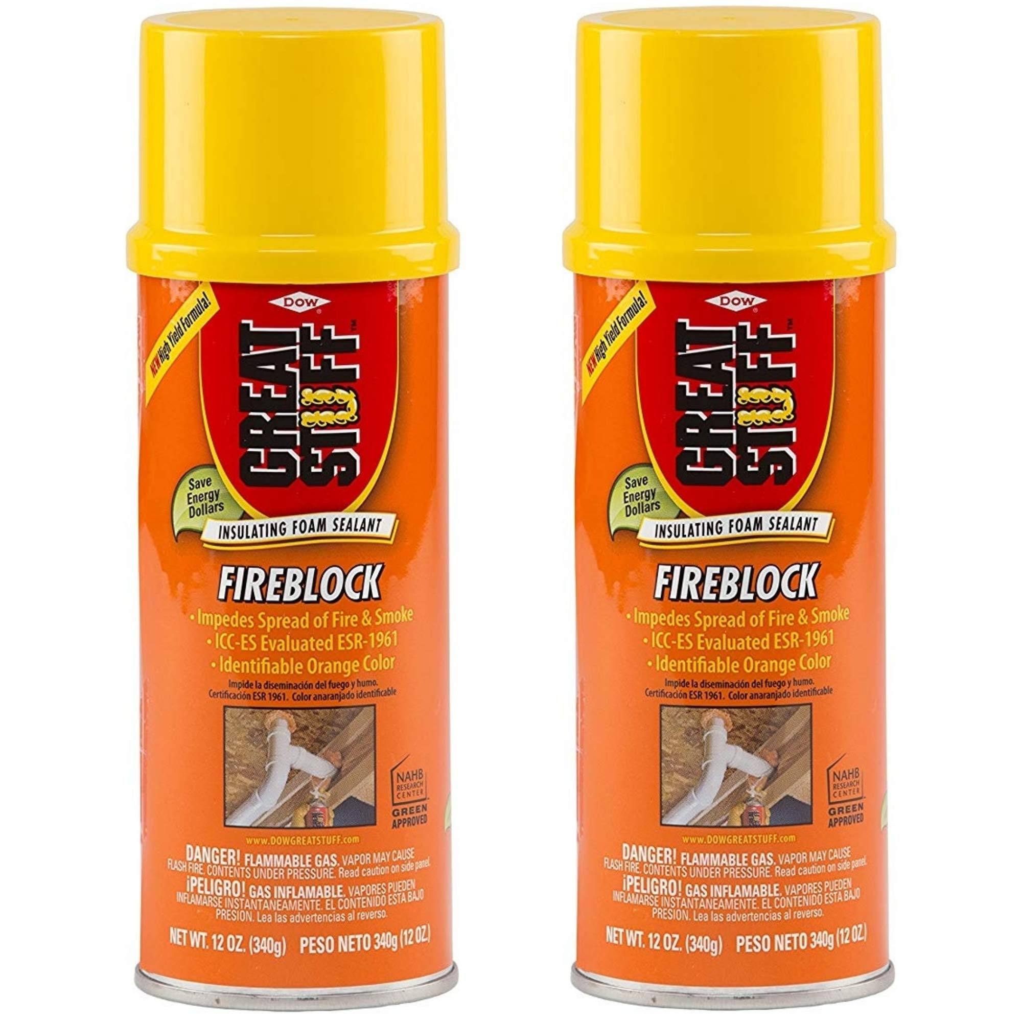 Great Stuff Fireblock 12 oz Insulating Foam Sealant 2 Pack product image