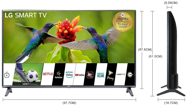 LG 108 cm (43 Inches) Full HD Smart LED TV