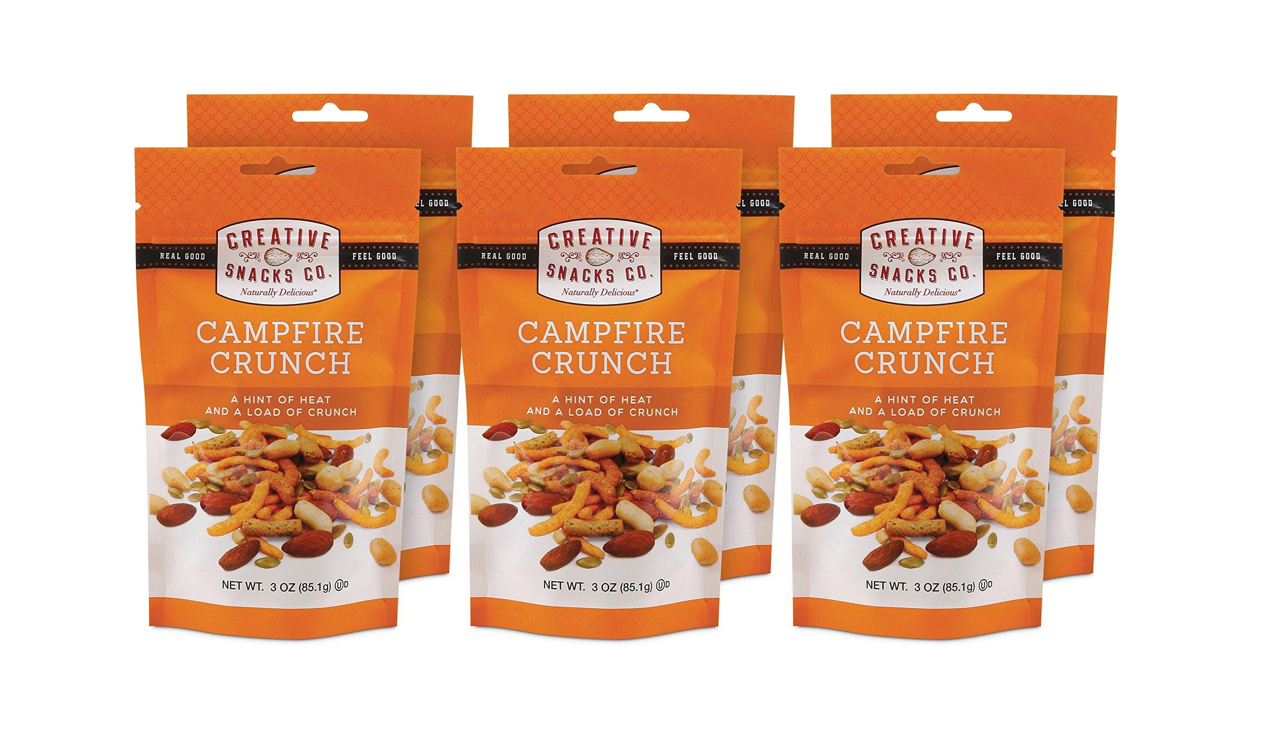 Creative Snacks Campfire Crunch Snack Bag, Net Wt. 3 oz. (Pack of 6)
