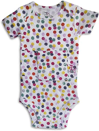 Starberrykids Feeding Tube Undershirt Onesie for Babies Toddlers and Children