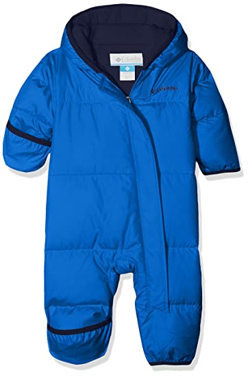 f1562916e Image Unavailable. Image not available for. Color: Columbia Snuggly Bunny  Bunting Toddler Snowsuit 3-6 Months Super Blue Collegiate Navy