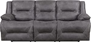 MorriSofa Everly 3 Seat Lay Flat Dual Reclining Sofa