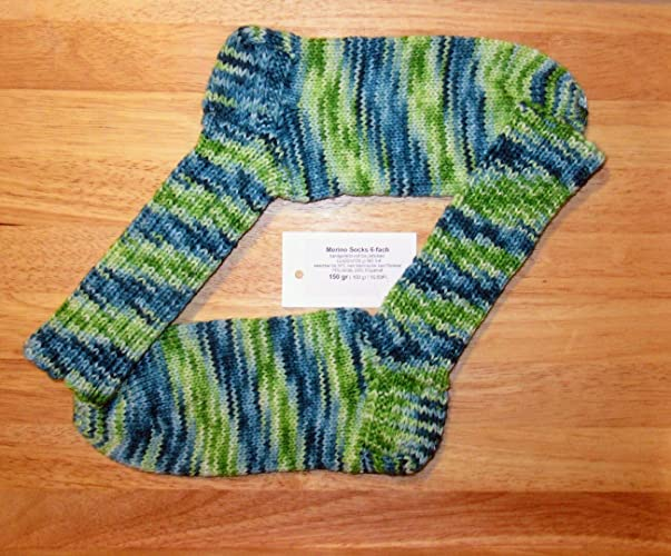 Calcetines de punto tejidos a mano/Calcetines de lana/lana merino / 6 ply