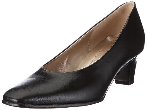 Gabor Schuhe Pumps High Heels schwarz elegant bequem Leder