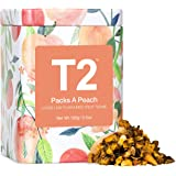 T2 Tea Packs a Peach Fruit Tea, Loose Leaf Fruit Tea in in T2 Icon Tin, 100 g