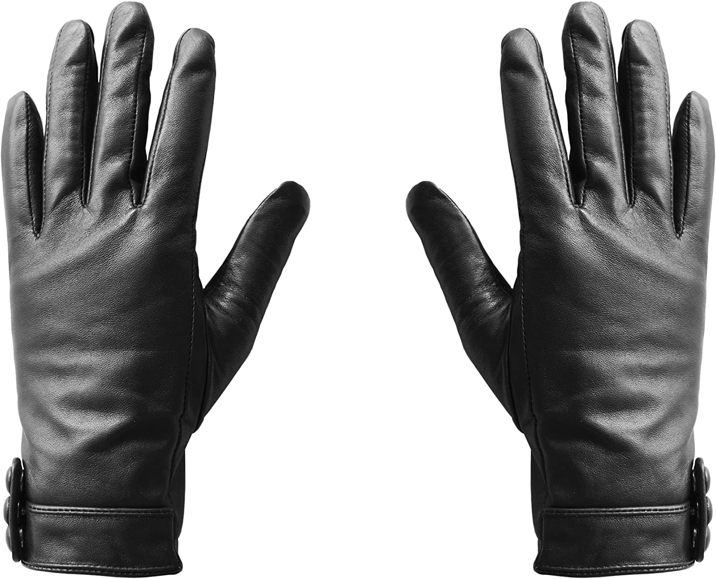 Hi-Fun Hi-glove- Guantes para mujer para pantalla táctil/teléfono móvil/ Smartphone/Tablet, talla M, color negro: Amazon.es: Electrónica