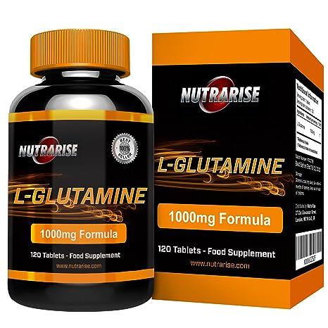 Glutamina. L-Glutamina de la mejor calidad. Suplemento de aminoácidos. Importantes beneficios