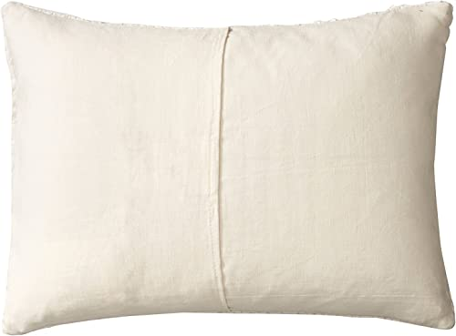 Vera Wang Decorative Pillow Sculpted Floral