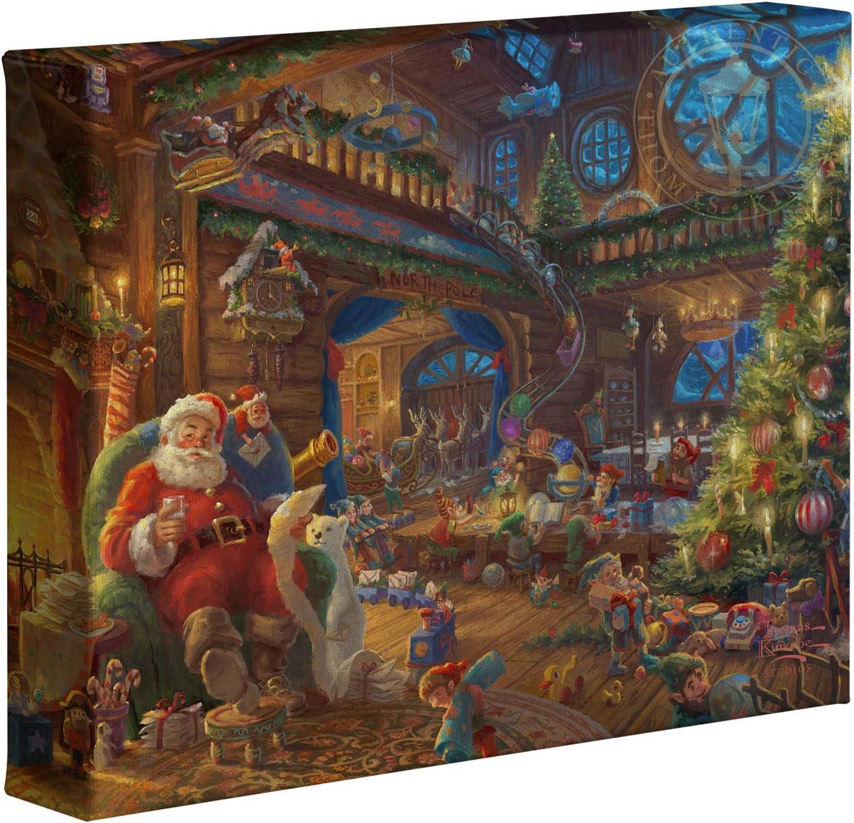 Thomas Kinkade Studios Santa's Workshop 8