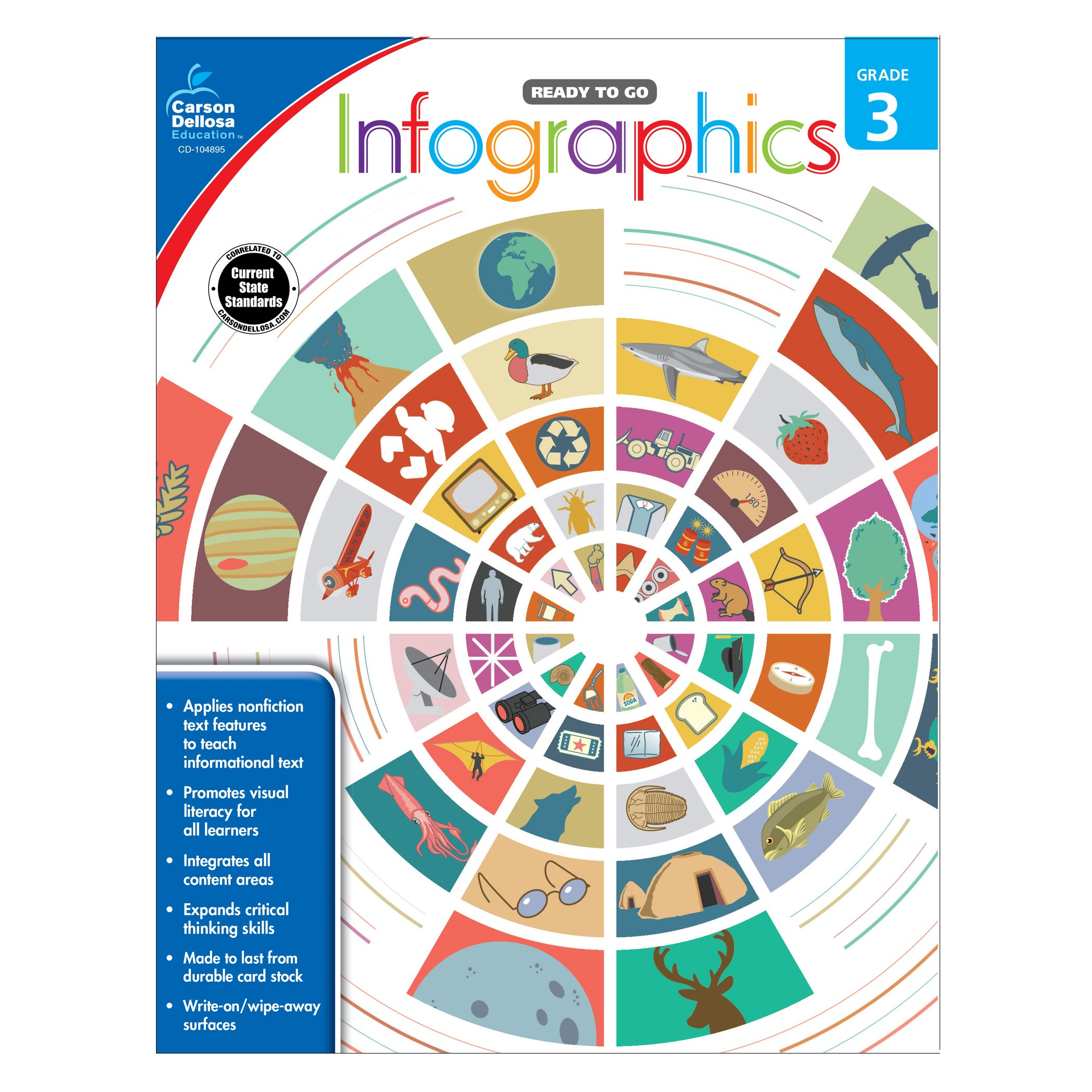 Infographics, Grade 3 (Ready to Go) pdf epub