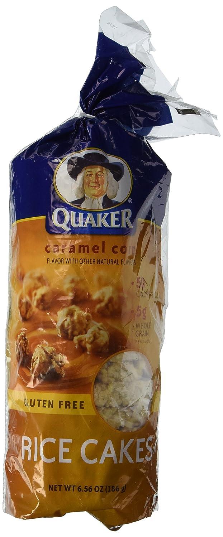 Quaker Caramel Corn Rice Cake 6.56 oz - 6 Unit Pack