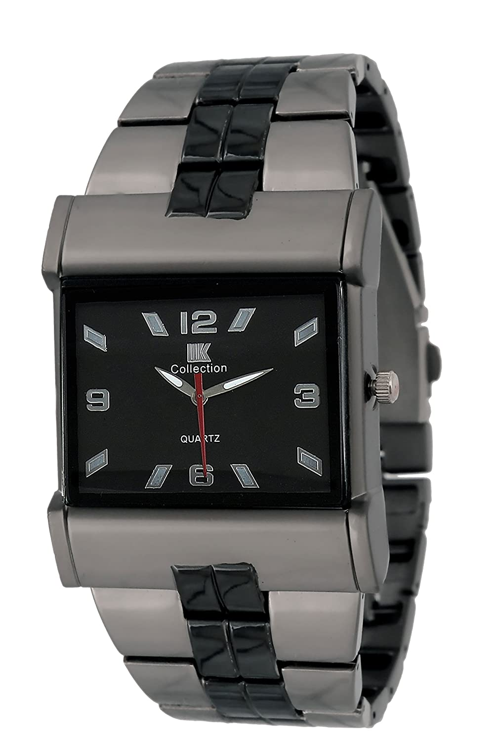 d436e94cd7e Buy IIk Collection Watches Quartz Movement Analogue Black Dial Men s Watch  - IIK027 Online at Low Prices in India - Amazon.in