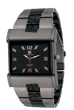 2c5ca88e1 Buy IIk Collection Watches Quartz Movement Analogue Black Dial Men s Watch  - IIK027 Online at Low Prices in India - Amazon.in