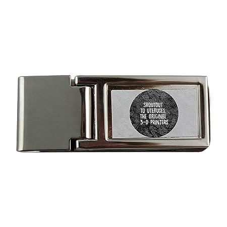 Metal dinero clip con SHOUTOUT a uteruses, el original 3d ...