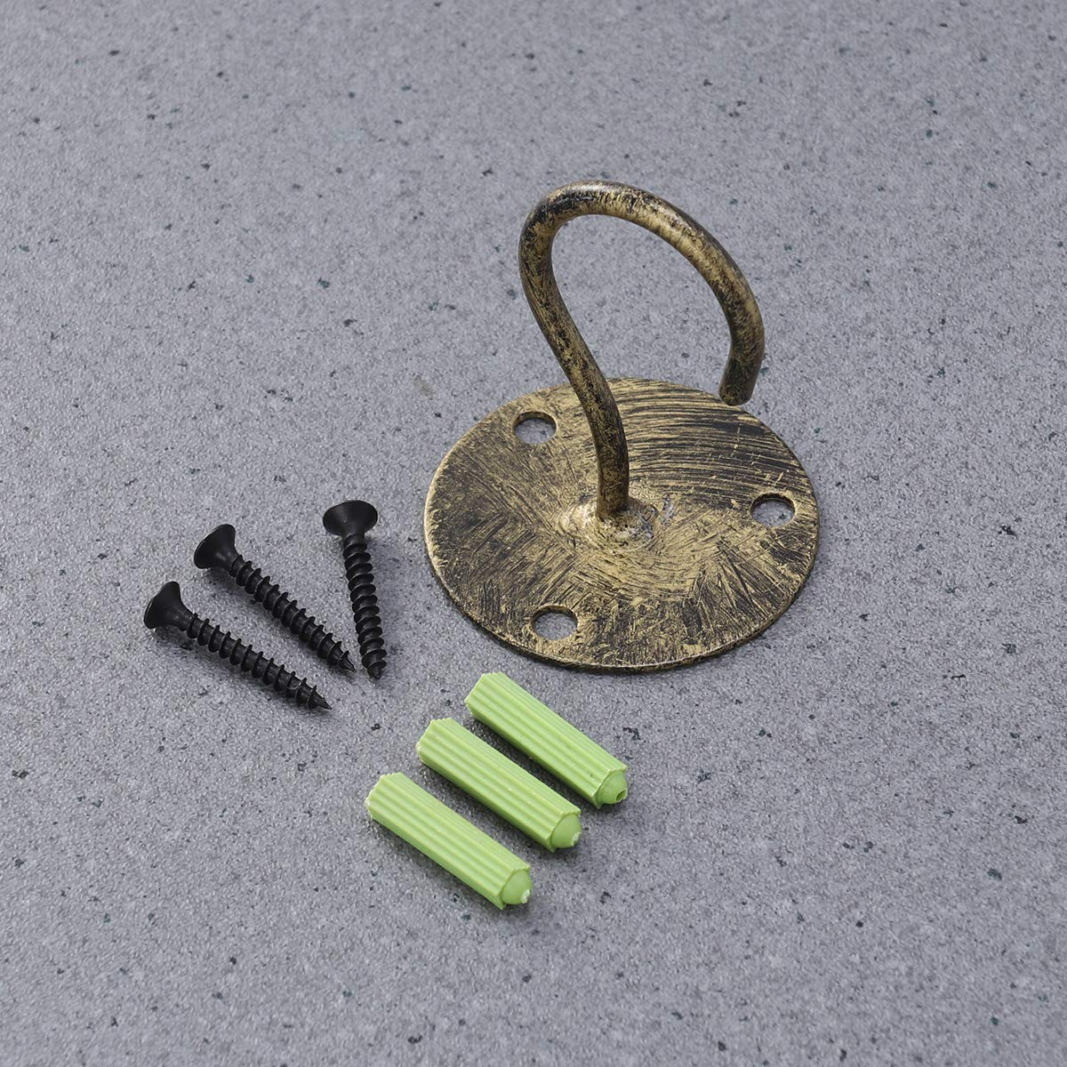 Multicolor Carolines Treasures SS8940SH4 Golden Retriever Leash Holder or Key Hook Small