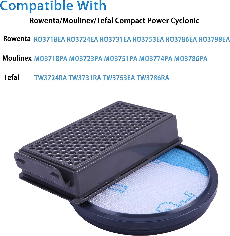 HTBAKOI Filtro para Aspiradora Rowenta Compact Power Cyclonic ...