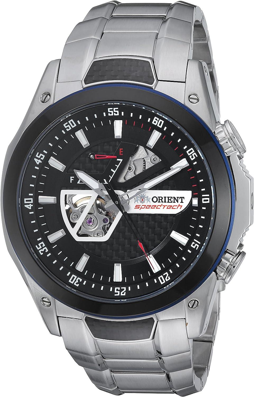 Orient Men s SDA05001B0 SpeedTech Automatic Analog Display Japanese Automatic Silver Watch