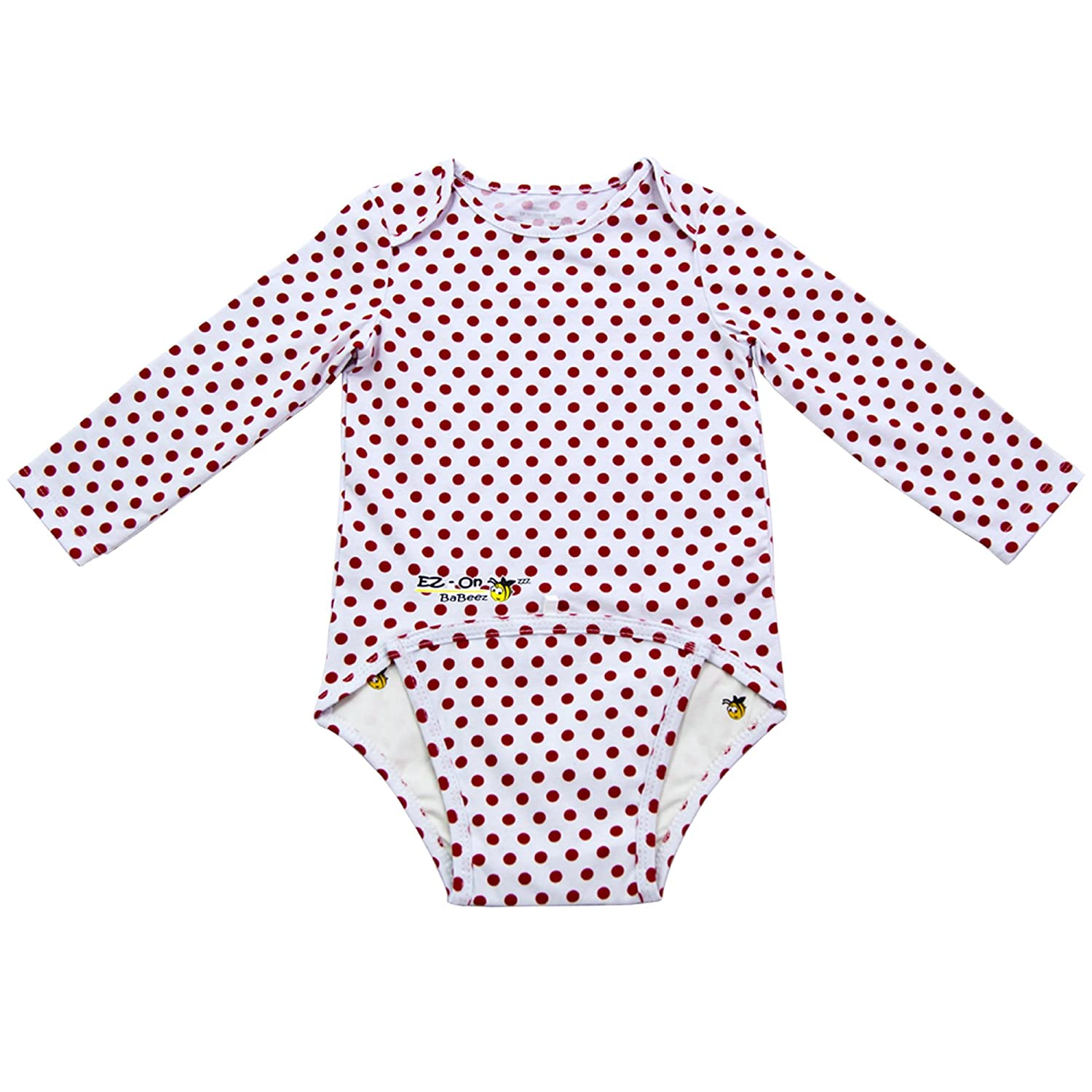 日本最級 EZ-On Dot BaBeez White SHIRT Months|Red ユニセックスベビー B07F652F9L Red Dot on White 9 - 12 Months 9 - 12 Months|Red Dot on White, 枡屋酒店:21ecb1e1 --- mcrisartesanato.com.br