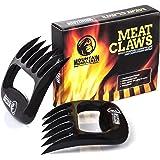 Mountain Grillers B077DKT757 Krallen - Hochwertige Meat Claws für amerikanisches BBQ Pulled Pork - Fleischkrallen aus Kunststoff zum Zerteilen - Spülmaschinenfeste Bärentatzen - Geschenkidee, Schwarz