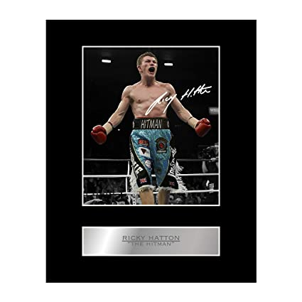 Photo Print 10 Ricky Hatton The Hitman Boxing Simplifiq Com Br