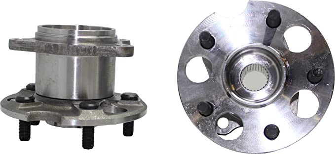 AdecoAutoParts/© Two 512284 Rear Wheel bearing Hub Assembly for Toyota Highlander Venza Lexus RX330 RX350 RX400h BR930338 HA590338 AWD Models Only
