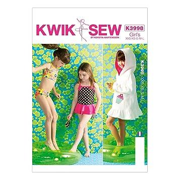 KWIK-SEW PATTERNS Kwik Sew Mustern K3998 Größe XXS – XS – klein ...