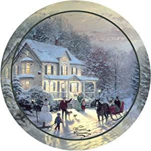Thirstystone Stoneware Coaster Set, Home for the Holidays