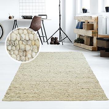Taracarpet Moderner Handweb Teppich Alpina Handgewebt Aus Schurwolle Für  Wohnzimmer, Esszimmer, Schlafzimmer Und Die