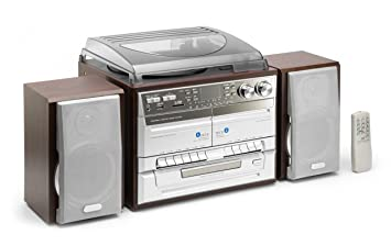 Classic Phono TCD-990 - Minicadena (tocadiscos, radio AM / FM / LW ...