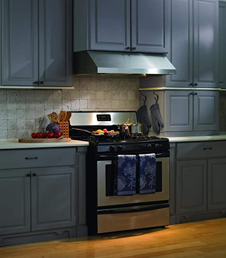 vent a hood prh9 136 ss 36 wide professional series 9 undercabinet mount range hood with straight professional lip cfm 300 450e single blower