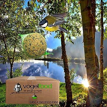 Lot de 200 nbsp boules de graisse pour nourrir les oiseaux, avec filets 200  x 4f32cd78822e
