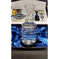 $169 » Kris Letang Pittsburgh Penguins signed 2017 Game Used ICE Stanley Cup