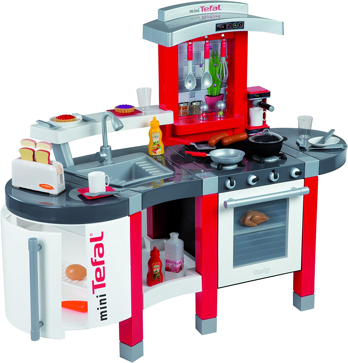 Smoby Tefal Super Chef Kitchen Amazon Co Uk Toys Games