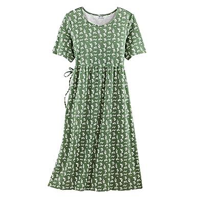 7ef821f94b1 Blair Women s Plus Size Print Knit Dress - XL Mineral Green at ...