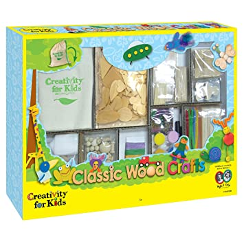 Creativity For Kids Cfk1669 Basteln Mit Holz Kinder Bastelset