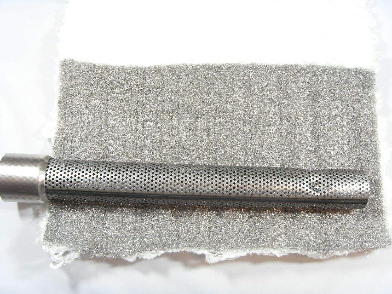 Schalld/ämpfer D/ämmwolle Auspuff 1000x450mm 1100/°C EDELSTAHLWOLLE