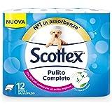 Scottex Carta Igienica Pulito Completo Salvaspazio - 12 Rotoli