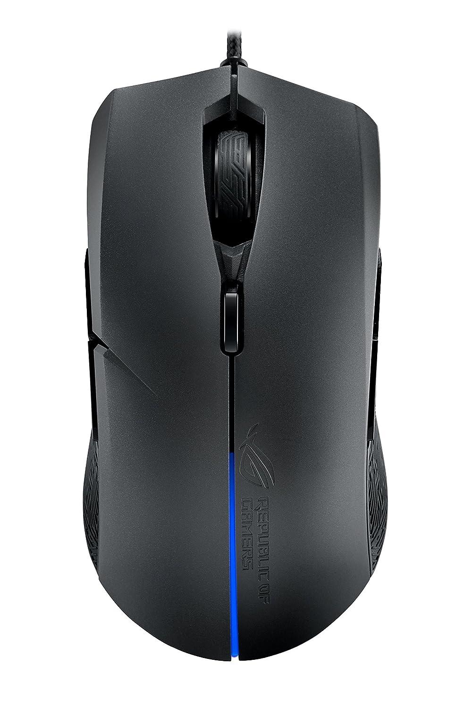 ASUS ROG Strix Evolve Gaming Mouse Aura RGB USB Wired Optical Ergonomic Ambidextrous 7200 DPI