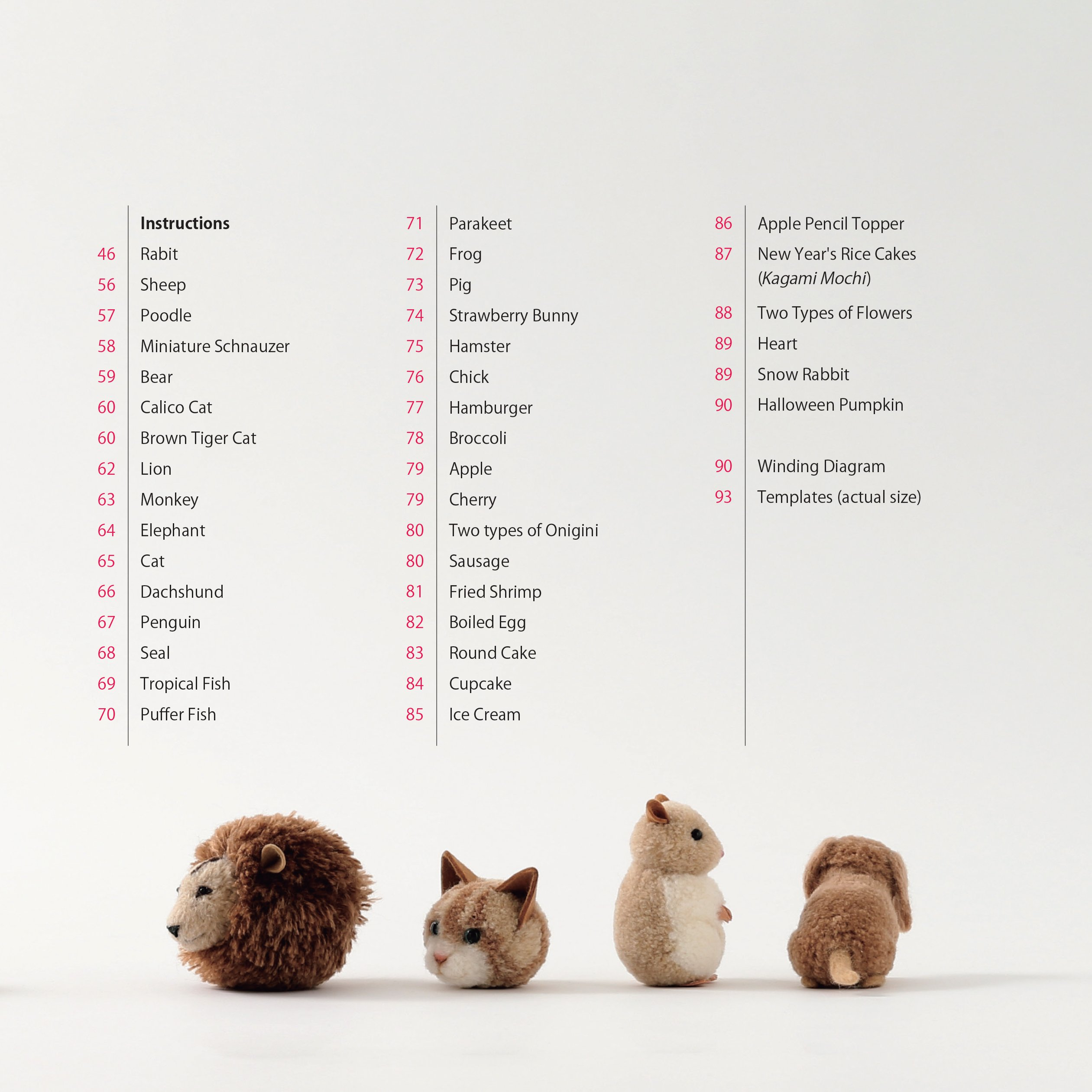 Adorable Pom Pom Animals: Dogs, Cats and Other Woolly Friends by Tuttle Publishing (Image #5)