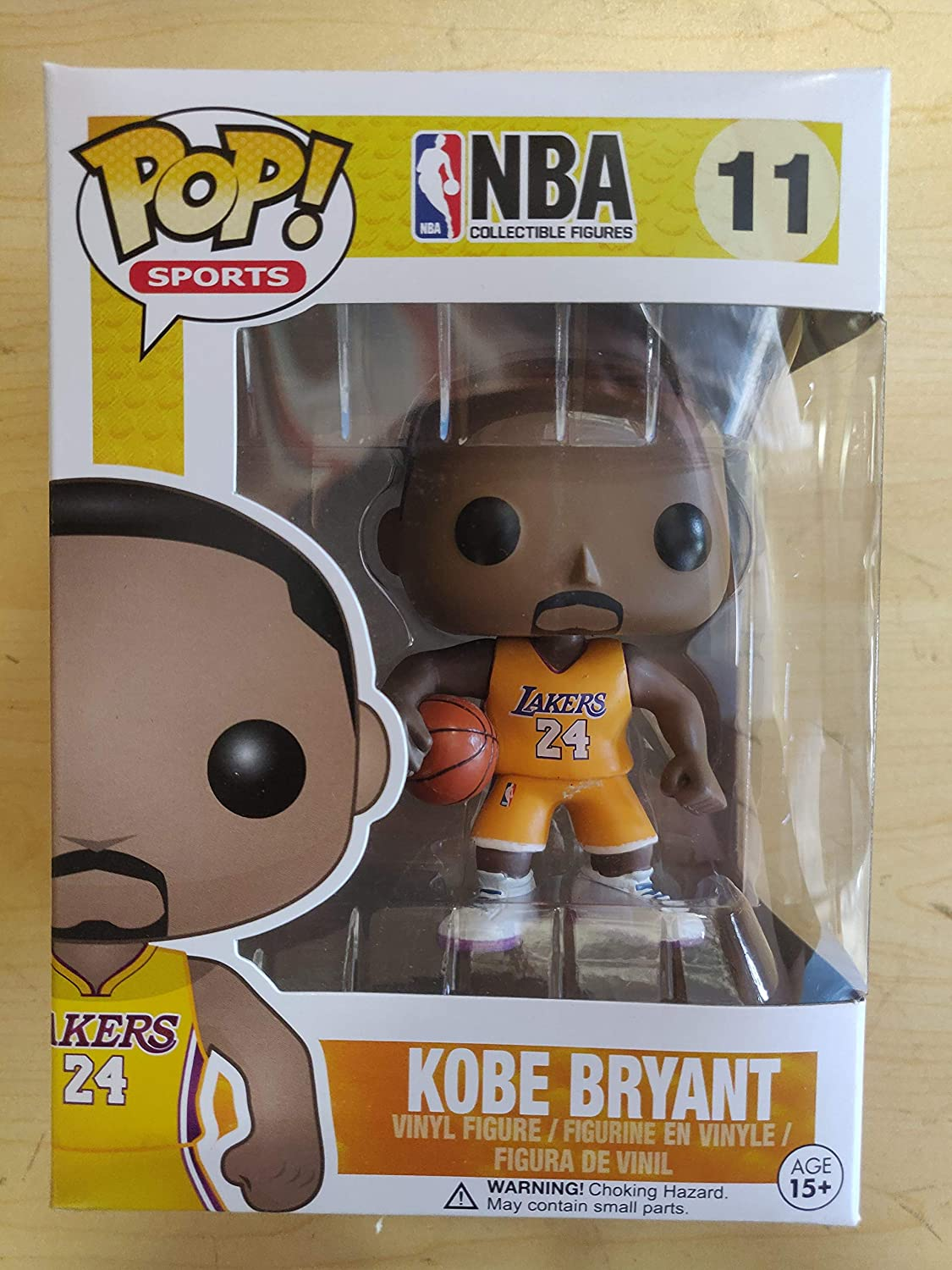 NEUVE Figurine FUNKO POP NBA #11 Lakers Kobe Bryan Figure