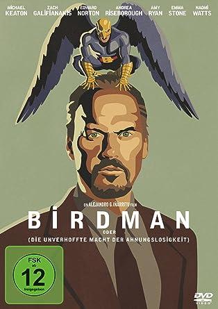 Birdman, oder (die unverhoffte Macht der Ahnungslosigkeit) [Alemania] [DVD]